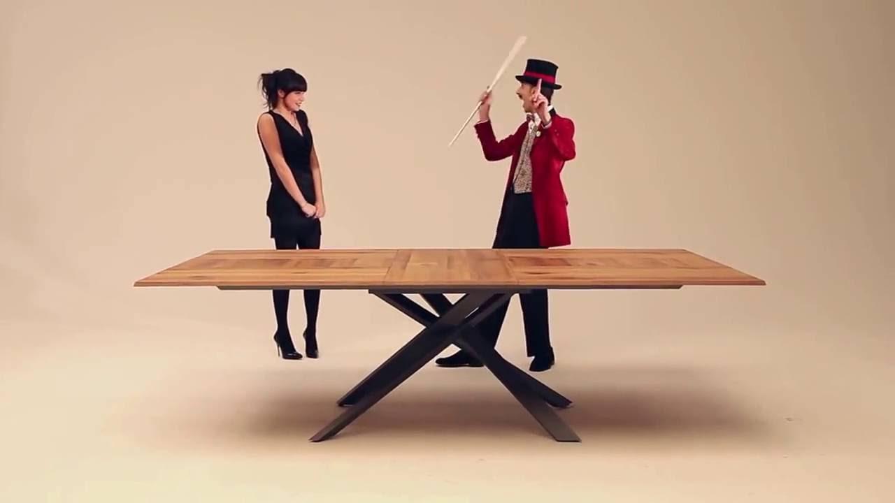 Ozzio 4x4 tavolo da pranzo allungabile extendable table for Tavolo 4x4