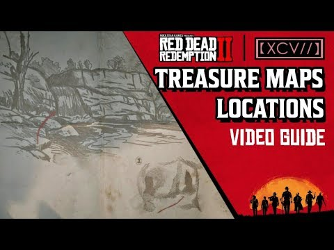 EASY $7000+ I How To Find and Solve All Treasure Maps In Red Dead Redemption 2
