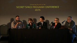 Panel Discussion Sunday Secret Space Program Conference, 2015 Bastrop