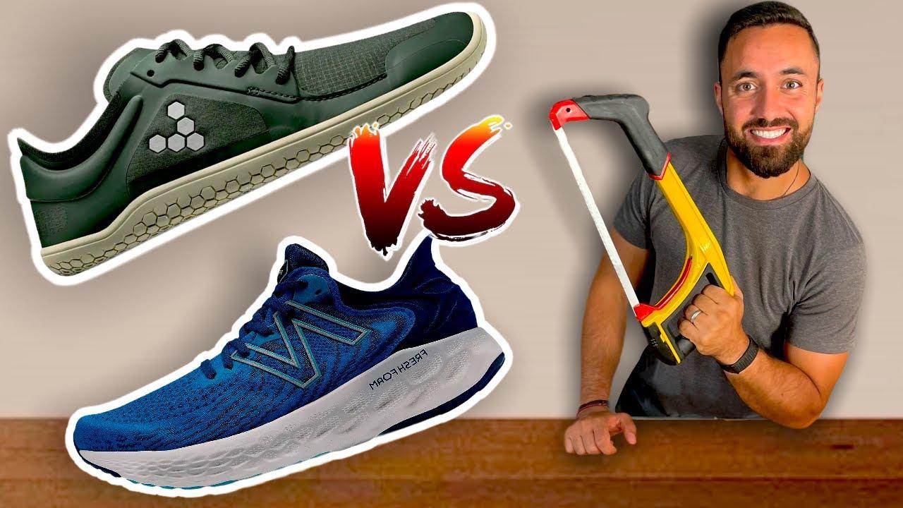Barefoot Shoes vs Running Shoes | Teardown & Comparison