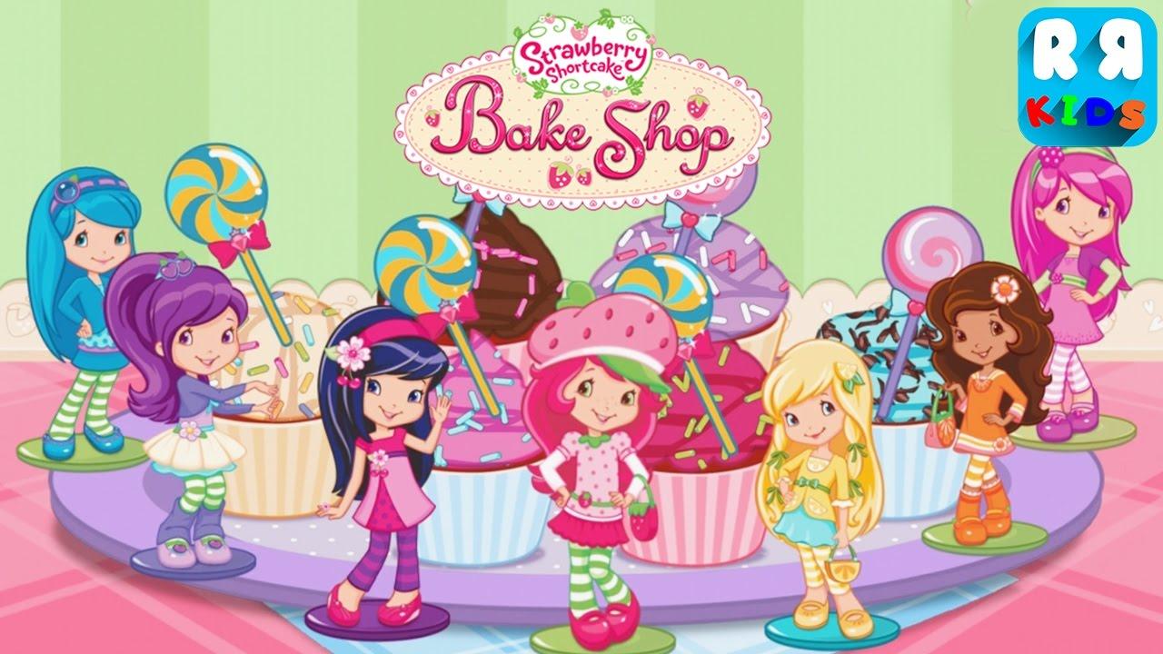 Strawberry Shortcake Cake Youtube