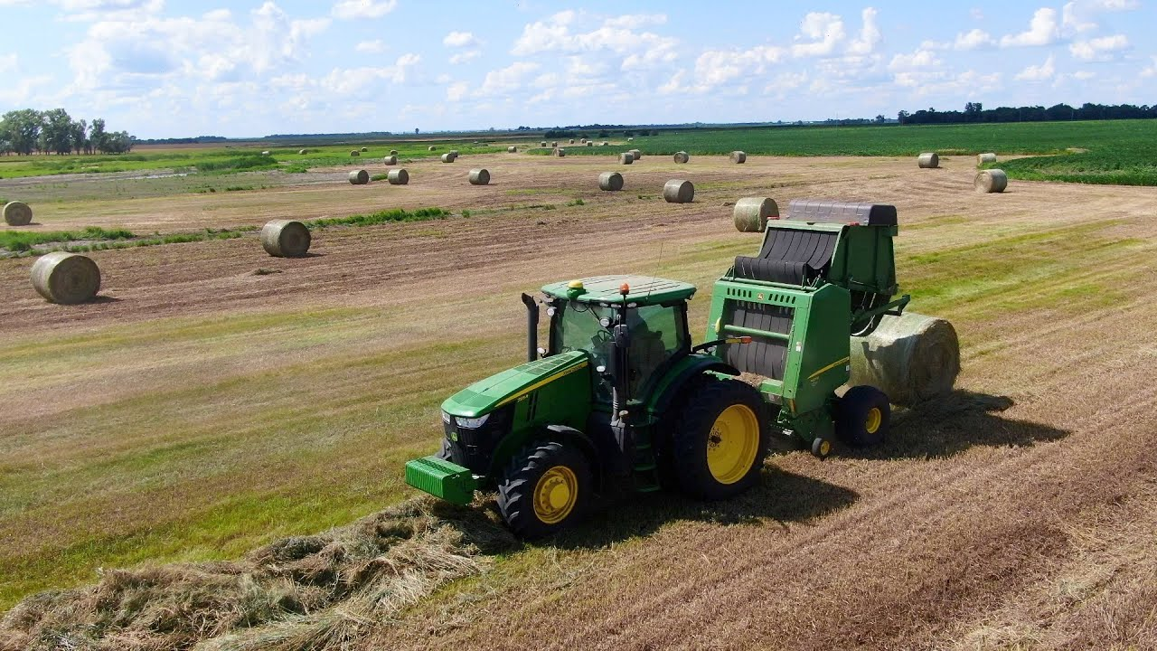 Dad wants his old baler back *getting frustrated
