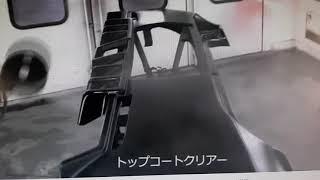일본 자동차도장대회 우승 포르테 스프레이건