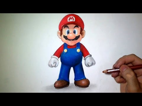 Comment Dessiner Mario Tutoriel Youtube