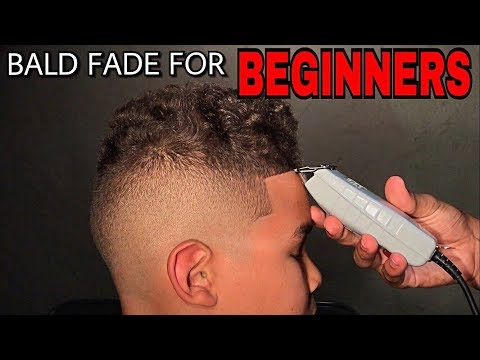 BALD FADE TUTORIAL (STEP BY STEP) by 14 Year Old Barber