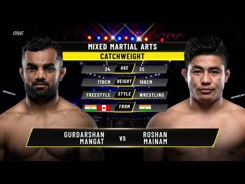 Gurdarshan Mangat vs. Roshan Mainam | ONE Championship Full Fight