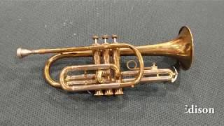 Flea Market Cornet Repair and Restoration!