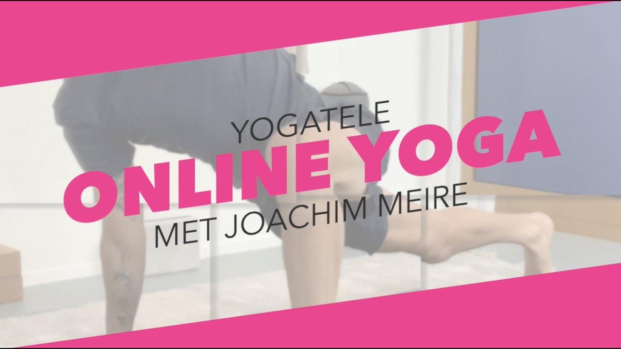 Yogatele - online yogales met Joachim Meire