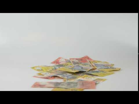 Money Currency Cash Finance Australian Financial No Copyright Video