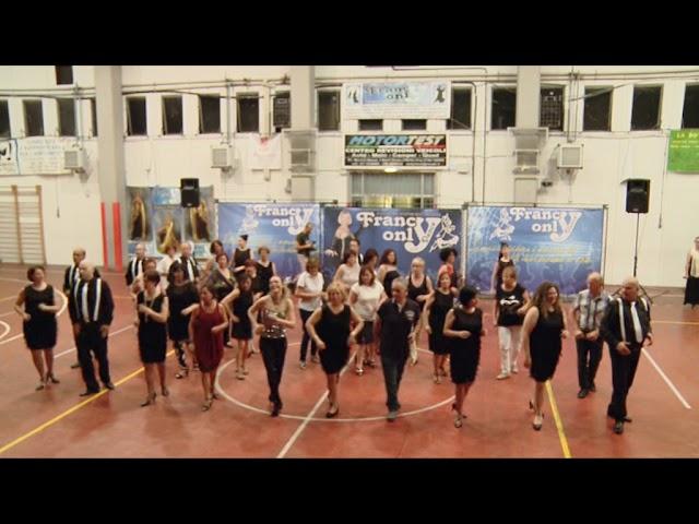 15° spettacolo ASD Francy Only Dance - balli di gruppo 'Si Tu Me Das - Giga Gigolò'