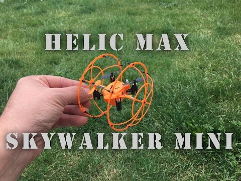 Helic Max SkyWalker Mini Quadcopter No.1336 Unboxing And Flying