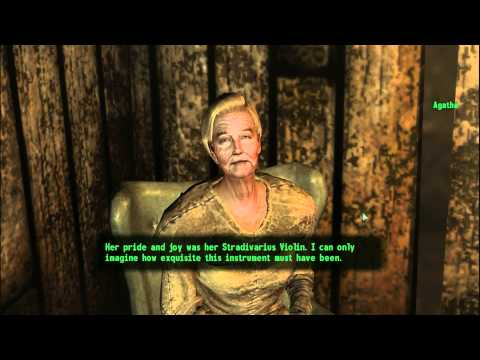 Fallout 3 Agathas Song part 1 of 5 Meeting Agatha