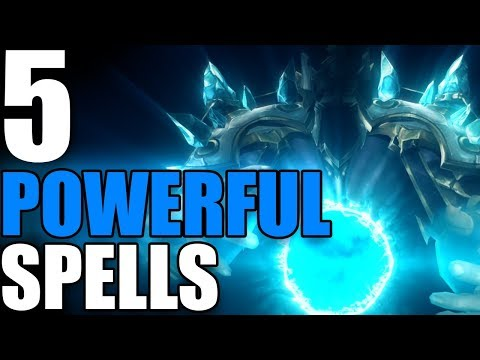 5 Incredibly Powerful Spells in World of Warcraft