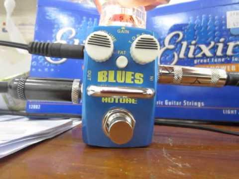 HOTONE BLUES OVERDRIVE GUITAR EFFECT