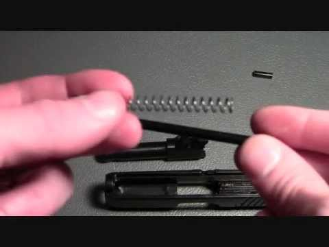 How to disassemble and reassemble the Ruger LC9