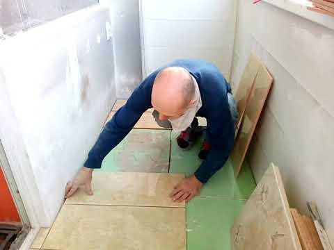 Керамическая плитка на деревянный пол ПОСВОРУ