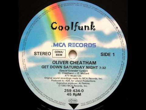 Oliver Cheatham Get Down Saturday Night 12 Special Extended 1983 Youtube