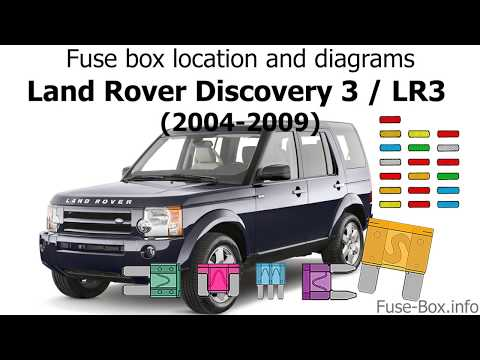 [SCHEMATICS_4NL]  Fuse box location and diagrams: Land Rover Discovery 3 / LR3 (2004-2009) -  YouTube | 2004 Land Rover Discovery Fuse Box |  | YouTube