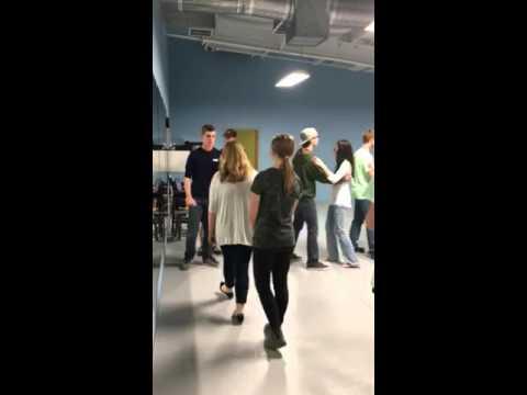 Foxtrot with Teen Dance Club - YouTube