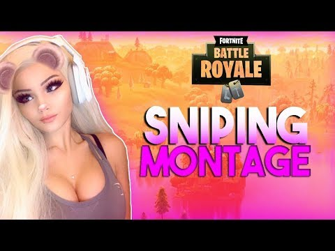 Fortnite Sniping Montage - Justfoxii