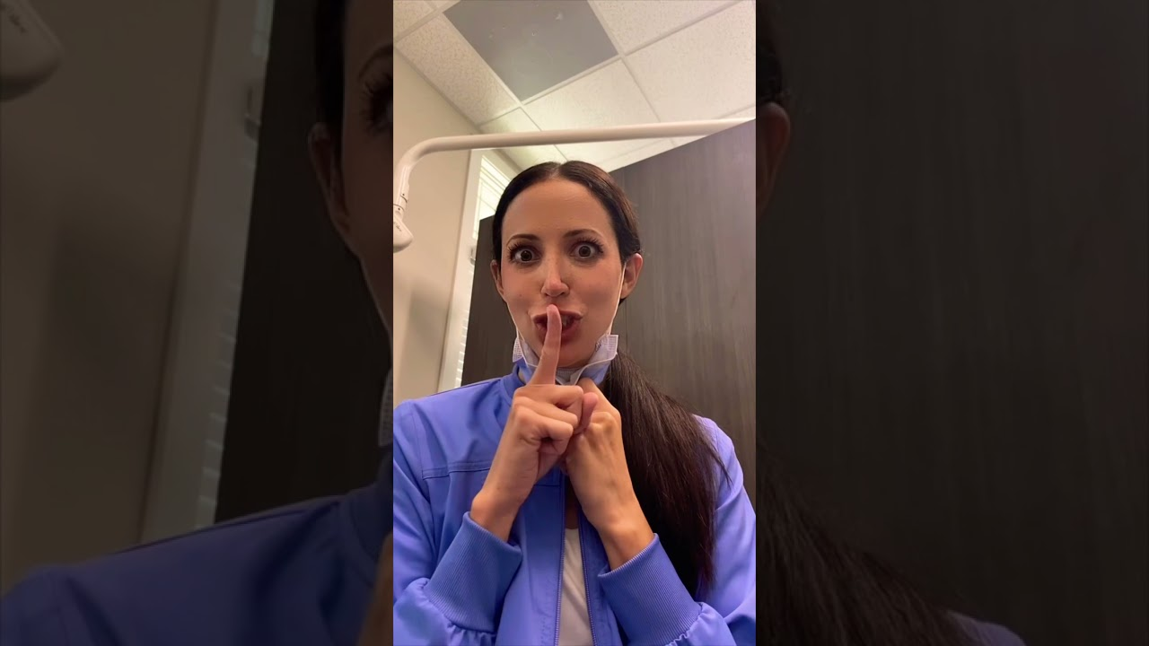 how to STAY ON TIME at work (for dental hygienists) #shorts