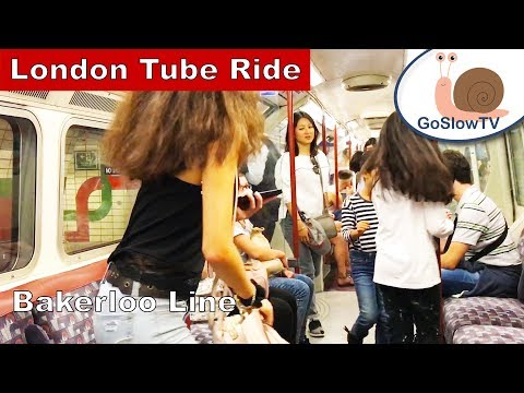 London Underground Tube Ride | Waterloo to Oxford Circus | Bakerloo Line | Slow TV | Episode 27
