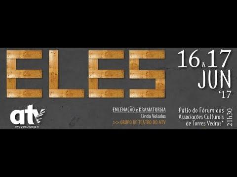ATV - estreia peça teatro ELES - 16 e 17 junho 2017 (promo)