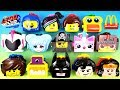 2019 THE LEGO MOVIE 2 McDONALD'S HAPPY MEAL TOYS FULL WORLD SET 14 UNBOXING EUROPE ASIA US UK KIDS