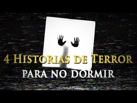 4 HISTORIAS PARA NO DORMIR