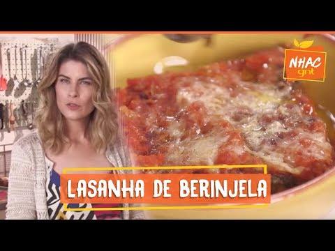 Lasanha de berinjela  Rita Lobo  Cozinha Prática