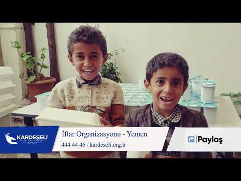 Yemen'de İftar Organizasyonumuz Devam Ediyor !