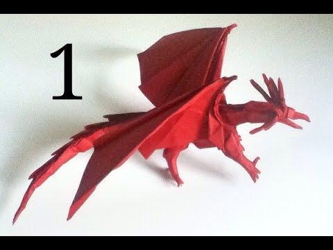 How to make an Origami Darkness Dragon 2.0 (Tadashi Mori) - YouTube | 360x480