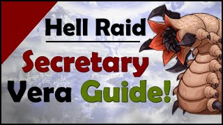 epic 7: Hell Raid Secretary Vera Guide!! (Stats Included)