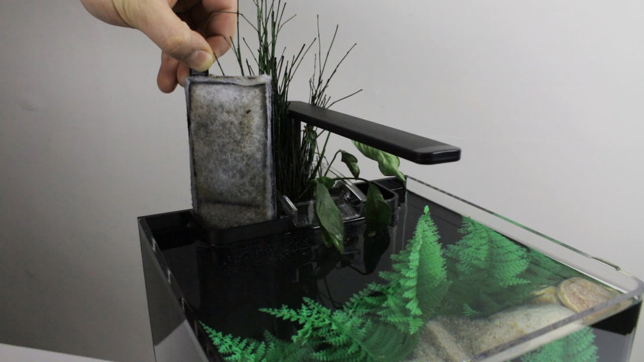 Edge Glow Cartridge Filter And Waterfall Planter Youtube