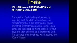Chuck Missler Feasts of Israel session 2: Passover