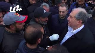 Արմեն Սարգսյանը եկավ  Հանրապետության հրապարակ