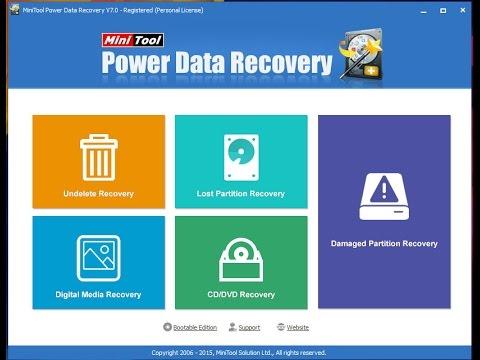minitool power data recovery crack v7.5