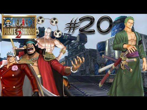 One Piece Pirate Warriors 2 pt20: Pirati vs Marine