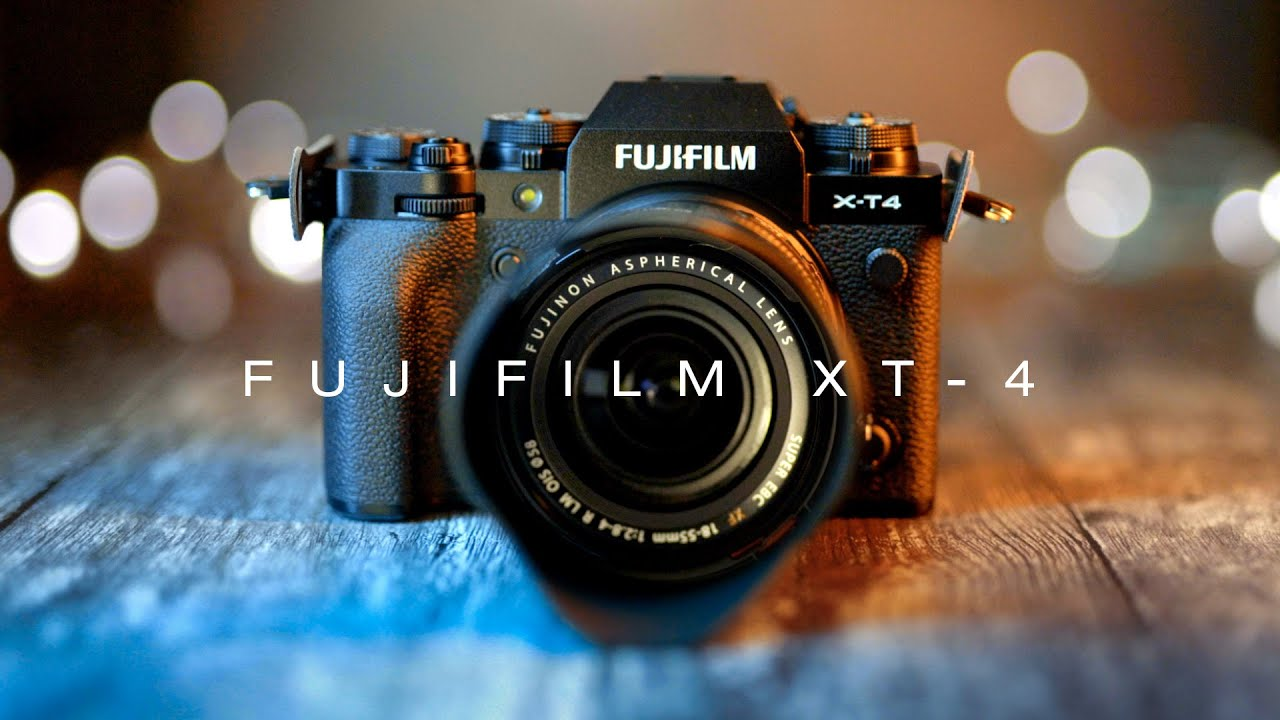 Fujifilm XT-4 - What's All The FUSS About? Review with photo/video samples
