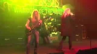 Saxon - To Hell and Back Again - Live la Laiterie Strasbourg le 28/11/2014