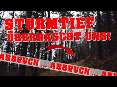 Zweitälersteig | TAG 4 | Ausnahmezustand im Schwarzwald | Orkanböen mit Tempo 178 auf dem Feldberg!