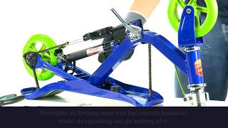 Space Scooter - Ketting vervangen X360 X580 X590 (NL)