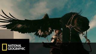 Sokolnicy z gór Ałtaju od wieków używali zwierząt zamiast broni!  [Przedziwna planeta ziemia]