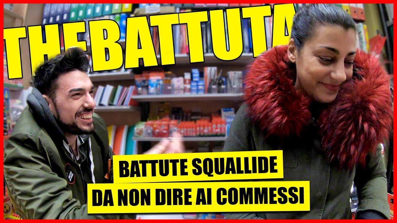 Download Battute Squallide alle Commesse - theBattuta tra la Gente - [Candid Camera] - theShow