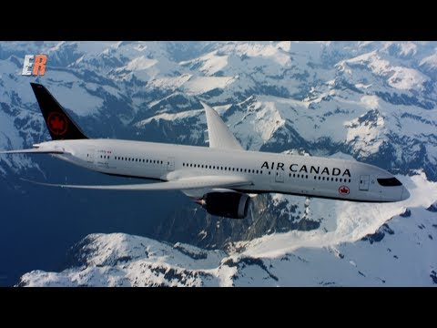 Flight of a Lifetime - Air Canada 787 Dreamliner Air to Air Filming