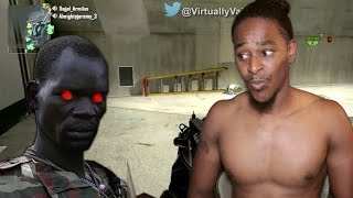 [African Drug Lord plays Black ops 2] Reaction!! WOW! Virtually Vain