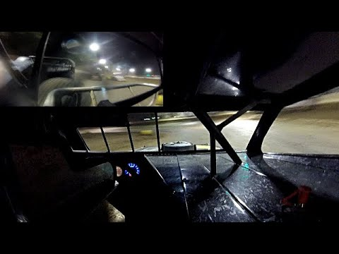 In Car Cam of Chris Smith at Highland Speedway 8-10-19(with rear cam and make up feature)