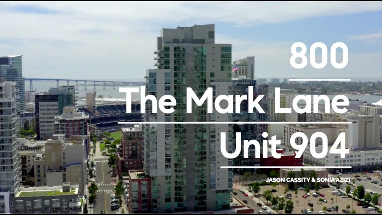 Just Listed! 800 The Mark Lane Unit 904 | Downtown San Diego Condo For Sale | Jason Cassity, COMPASS