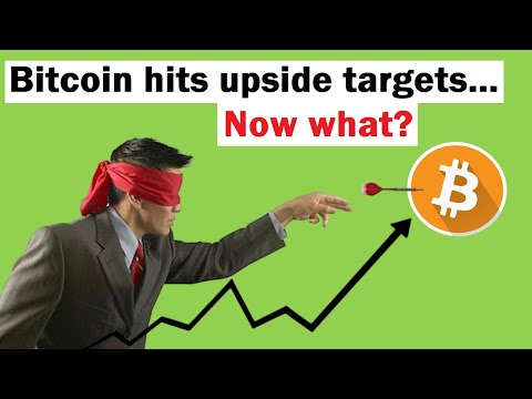 Bitcoin Hits Upside Targets... What Happens Now?