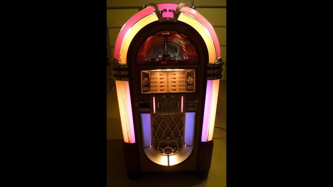 Rowe Ami Rb 8 Jukebox Sold Youtube